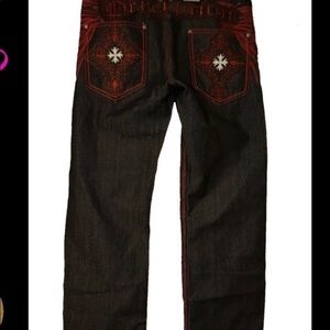 Other - Baggy Hip Hop Men's Graphic Jeans embroidery 42X32